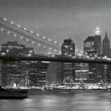 Downtown Manhattan and Brooklyn Bridge