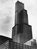 The Sears Tower  Chicago  Illinois  1970's
