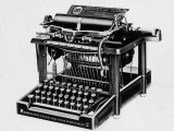 The Remington 2  the First Typewriter Capable of Printing Lower and Upper Case Letters  1878