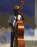 Double Bass Player  Cuba