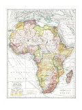 1909 Africa Map