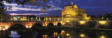 Castel Sant'Angelo at Night  Rome
