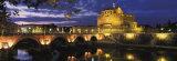 Castel Sant'Angelo at Night  Rome