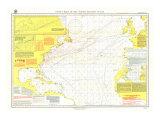 1903 Pilot Chart of the North Atlantic Ocean Map