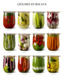 Vegetables in Jars