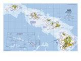 1976 Close-up USA  Hawaii Map