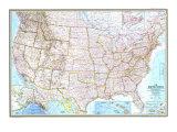 1968 United States Map