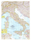 Italy Map 1961