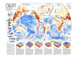 1985 Earths Dynamic Crust Map