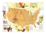 1991 Native American Heritage Map