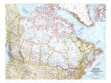 1961 Canada Map