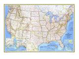 1976 United States Map