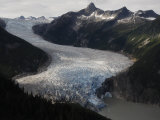 Taku Glacier is the largest glacier in the Juneau Icefield