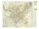 1948 Suburban Washington DC  Maryland & Virginia Map