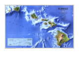 Hawaii Map 1995