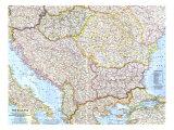 1962 The Balkans Map
