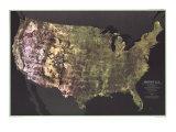1976 Portrait USA Map
