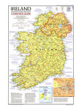 1981 Ireland and Northern Ireland Visitors Guide Map