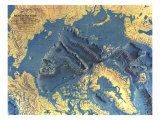 1971 Arctic Ocean Floor Map