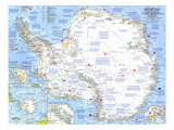 Antarctica Map 1962