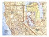 1966 Northern California Map