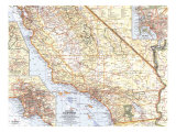 Southern California Map 1966