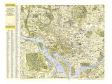 1948 Central Washington  District of Columbia Map