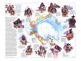 Peoples Of The Arctic Map 1983