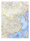China Map 1964