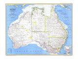 Australia Map 1979