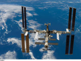 The International Space Station is still being assembled in stages
