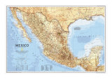 1994 Mexico Map