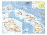1960 Hawaii Map