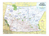 1994 Making of Canada  Prairie Provinces Map
