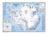 Antarctica Map 1987