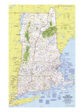 Western New England Map 1975