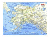 Alaska Map 1984 Side 1