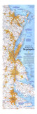 1994 Boston To Washington Megalopolis Map