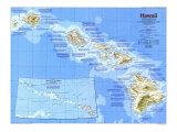 1983 Hawaii Map