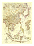 1952 The Far East Map