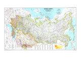 1990 Soviet Union Map