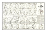Heavens Map 1970 with Star Charts