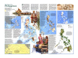1986 History of the Philippines Map