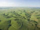 The Flint Hills of Kansas Reproduction d'art par Jim Richardson