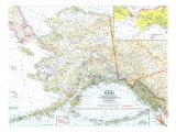 State Of Alaska Map 1959