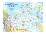 Yukon And Northwest Territories Map 1997