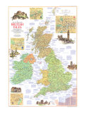 1974 Travelers Map of the British Isles