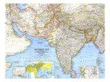 1963 Southwest Asia Map