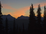 Sunset from Granite Park Chalet