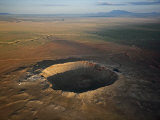 Meteor Crater is the best preserved asteroid impact site on Earth